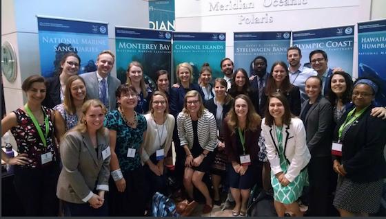 2018 Knauss Fellows at Capitol Hill during Ocean Week 2018.