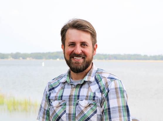 Adopt-A-Wetland Coordinator Luke Roberson